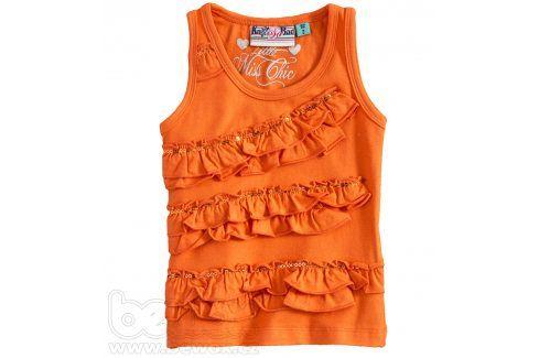 KNOT SO BAD Dívčí tričko bez rukávů Velikost: 92 Trička a košile