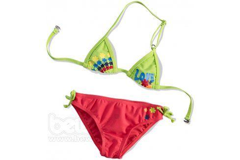 KNOT SO BAD Dívčí plavky 2dílné LOVE Velikost: 92 Dětské plavky