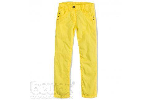 KNOT SO BAD Dívčí plátěné kalhoty Velikost: 140 Dětské kalhoty