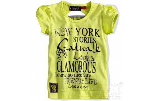 KNOT SO BAD Dívčí tričko s krátkým rukávem Velikost: 92 Trička a košile