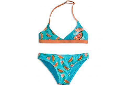 Dívčí plavky KNOT SO BAD FUNNY FRUIT oranžové Velikost: 92 Dětské plavky