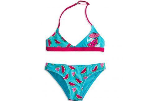 Dívčí plavky KNOT SO BAD FUNNY FRUIT růžové Velikost: 92 Dětské plavky