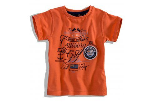 Dětské tričko krátký rukáv Knot So Bad CRUSING oranžové Velikost: 92 Trička a košile