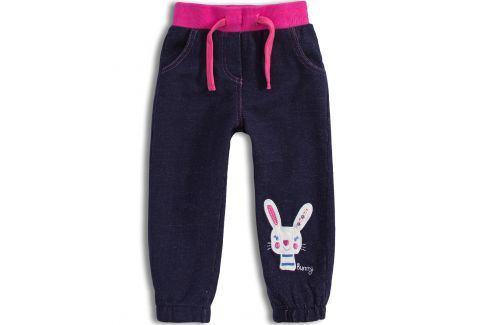 Dívčí kalhoty Mix´nMATCH BUNNY růžový pas Velikost: 92