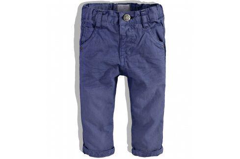 Chlapecké kalhoty Babaluno FOX tmavě modré Velikost: 86-92 Dětské kalhoty