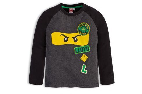 Chlapecké tričko LEGO NINJAGO LLOYD černé Velikost: 104