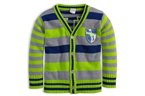 Chlapecký svetr DIRKJE MAWERICK zelený Velikost: 80