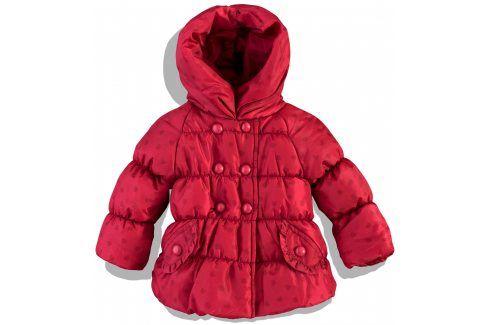 PICCOLO Kojenecká zimní bunda Babaluno HEART Velikost: 56-62 Kojenecké kabátky, bundy a vesty