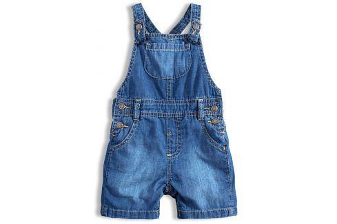 Kojenecké šortky s laclem LOSAN BABY modré Velikost: 68