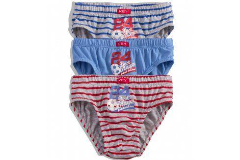 Chlapecké slipy KEY MÍČ Velikost: 116-122 Dětské spodní prádlo