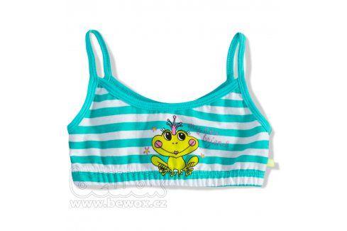 Dívčí top KEY ŽABKA Velikost: 128-134 Dětské spodní prádlo