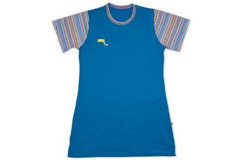 Noční košile KEY RAINBOW modrá Velikost: 134 Dětská pyžama a košilky