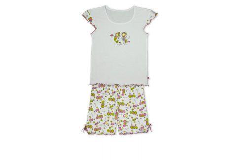 Dívčí letní pyžamo KEY MERMAID bílé Velikost: 128 Dětská pyžama a košilky