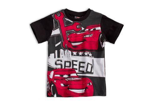 DISNEY CARS Dětské tričko DISNEY AUTA černé Velikost: 98