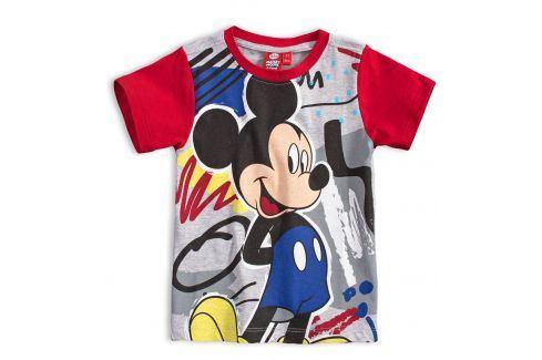 Chlapecké tričko DISNEY MICKEY MOUSE červené Velikost: 104