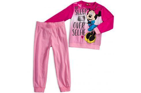 Dívčí pyžamo Disney MINNIE SLEEP tmavě růžové Velikost: 116