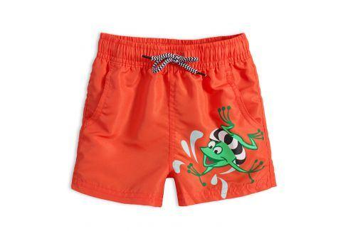 Chlapecké plavky KNOT SO BAD FROG oranžové Velikost: 92