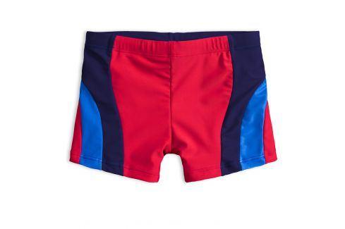 Chlapecké plavky KNOT SO BAD DIVING červené Velikost: 128 Dětské plavky