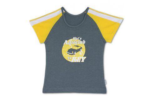 Dívčí tričko KEY šedé Velikost: 158-164 Trička a košile