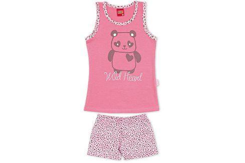 Dívčí letní pyžamo Kyly WILD HEART růžové Velikost: 128 Dětská pyžama a košilky