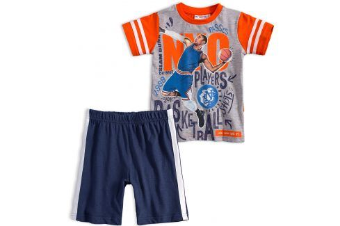 Chlapecká souprava Mix´nMATCH BASKETBALL oranžová Velikost: 98