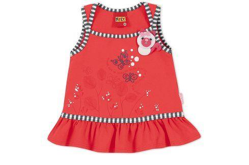 Dívčí tričko KYLY BUTTERFLY červené Velikost: 92 Trička a košile
