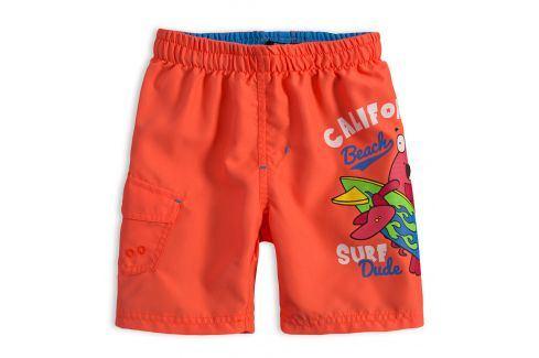 Chlapecké plavky LEMON BERET SURF DUDE oranžové Velikost: 98 Dětské plavky