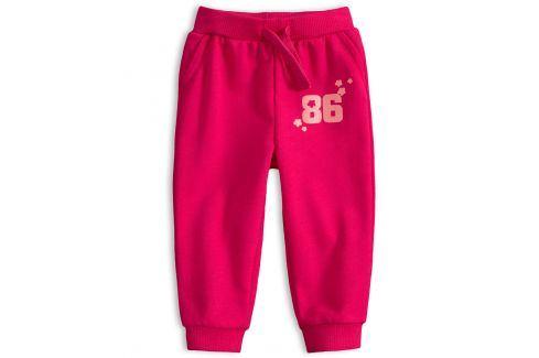 Dívčí tepláčky KNOT SO BAD EIGHTIES růžové Velikost: 62
