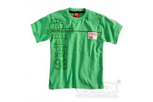 Chlapceké tričko krátký rukáv KYLY zelené Velikost: 98 Trička a košile