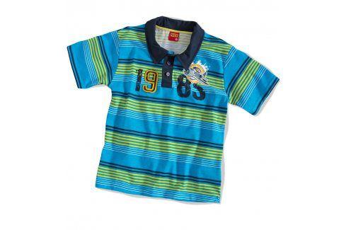 Dětské tričko polo KYLY modré Velikost: 104 Trička a košile