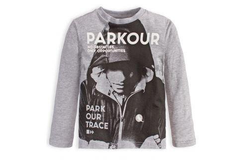Chlapecké tričko CANGURO PARKOUR TRACE šedé Velikost: 98