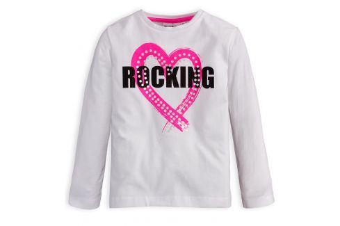 Dívčí tričko Mix´nMATCH ROCKING bílé Velikost: 98