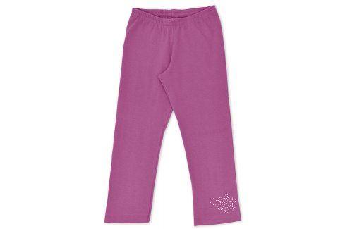 Leginy KYLY KYTIČKA fialové Velikost: 158 Dětské kalhoty