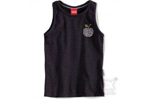 KYLY Tílko dívčí JABLKO černé Velikost: 152 Trička a košile