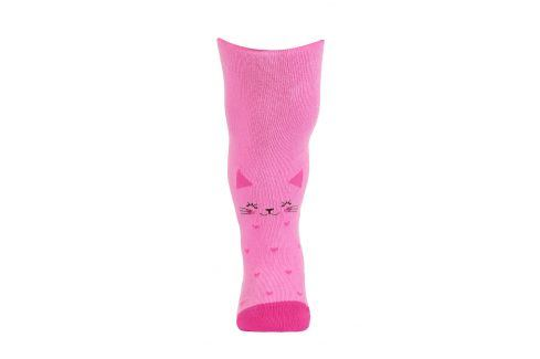Dívčí punčocháče se vzorem GATTA KOČIČKA růžové Velikost: 68-74 Dětské punčocháče