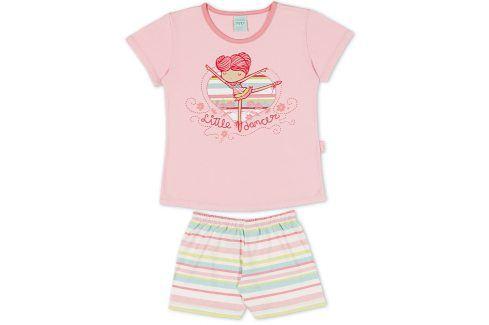 Dívčí pyžamo Kyly BALETKA růžové Velikost: 116 Dětská pyžama a košilky