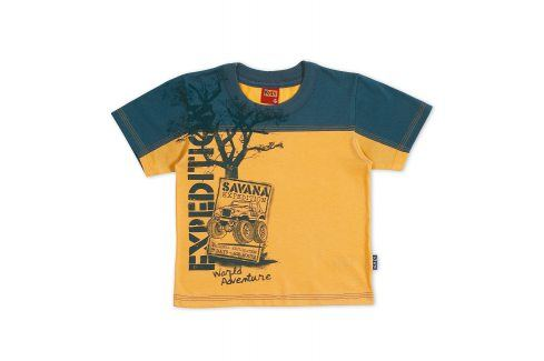 KYLY Chlapecké tričko EXPEDICE SAVANA Velikost: 98 Trička a košile