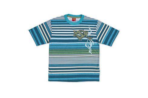 Chlapecké tričko KYLY modrý proužek Velikost: 104