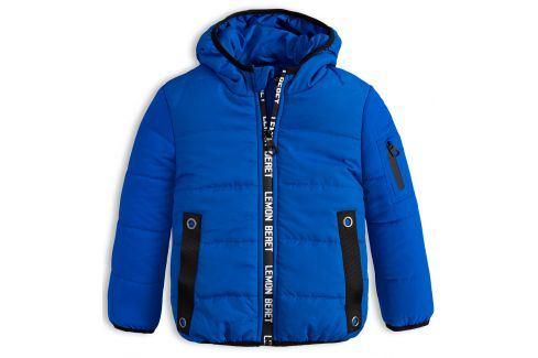 Chlapecká zimní bunda LEMON BERET ELECTRIC modrá Velikost: 92-98