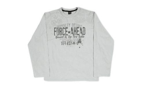 Chlapecké triko KYLY šedé Velikost: 152 Trička a košile