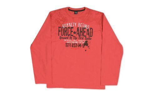 Chlapecké triko KYLY oranžové Velikost: 152 Trička a košile