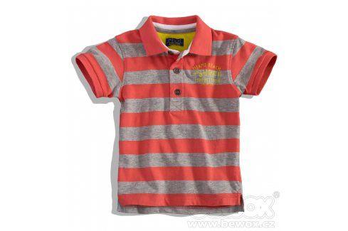 MINOTI Chlapecké tričko s límečkem krátký rukáv Velikost: 80-86 Kojenecká trička a košilky