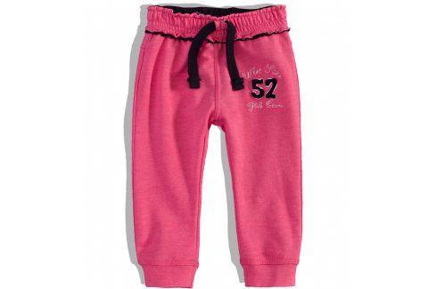 Dívčí tepláky MINOTI PINKY Velikost: 92-98 Dětské kalhoty