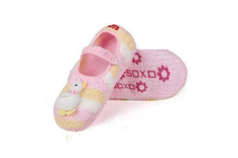SOXO Bačkorky - baleríny HUSIČKA Velikost: 35-36 Dětská obuv