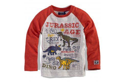 Chlapecké triko s dlouhým rukávem Minoti Velikost: 80-86 Kojenecká trička a košilky