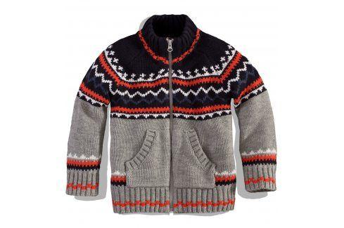 Chlapecký svetr Minoti TRECK Velikost: 80-86 Kojenecké mikiny a svetry