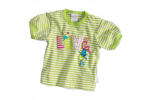 TUP-TUP Tričko LOVE Velikost: 56 Kojenecká trička a košilky
