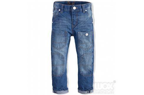 Chlapecké rifle Minoti URBAN modré Velikost: 98-104 Dětské kalhoty
