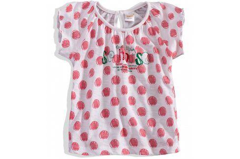 Dívčí tričko krátký rukáv DIRKJE Velikost: 80 Kojenecká trička a košilky