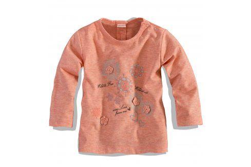 Dívčí triko s dlouhým rukávem Dirkje Velikost: 80 Kojenecká trička a košilky
